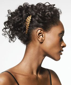 A beautiful, simple hair accessory elevates an updo--plus it can turn you into a...