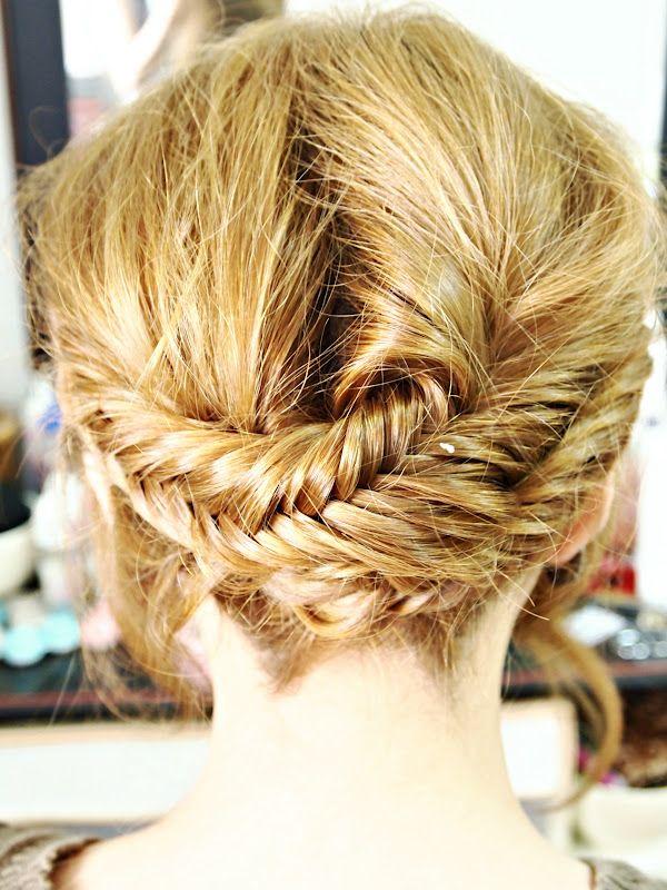 fishtail crown braid #hair