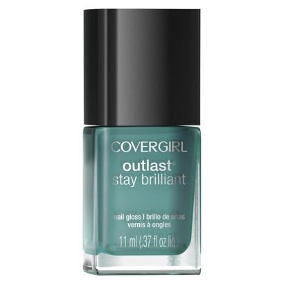 A pretty green polish easily makes the transition from summer to fall. If you ha...