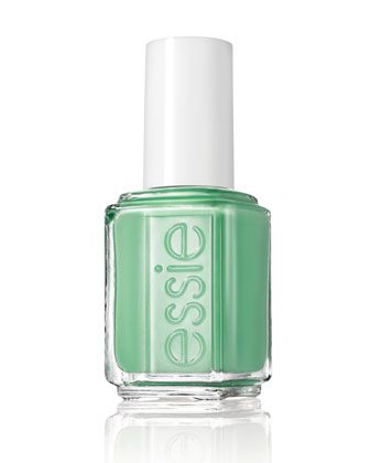 A pretty green polish works surprisingly well for fall. Try Essie's lush First...