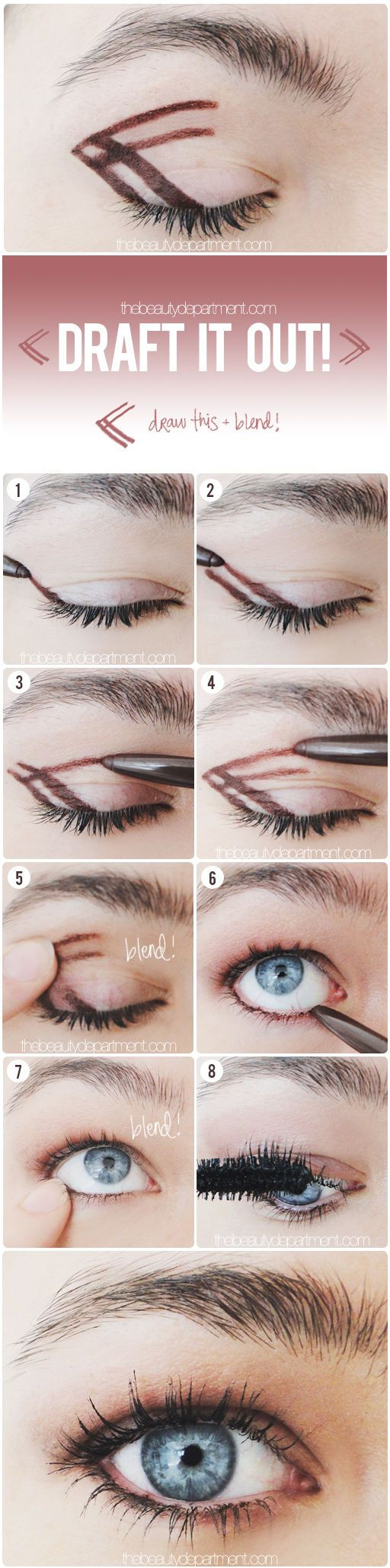 A quick trick for a surefire smoky eye....