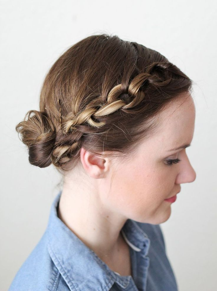 An interesting take on the braid. Click on the photo for more....