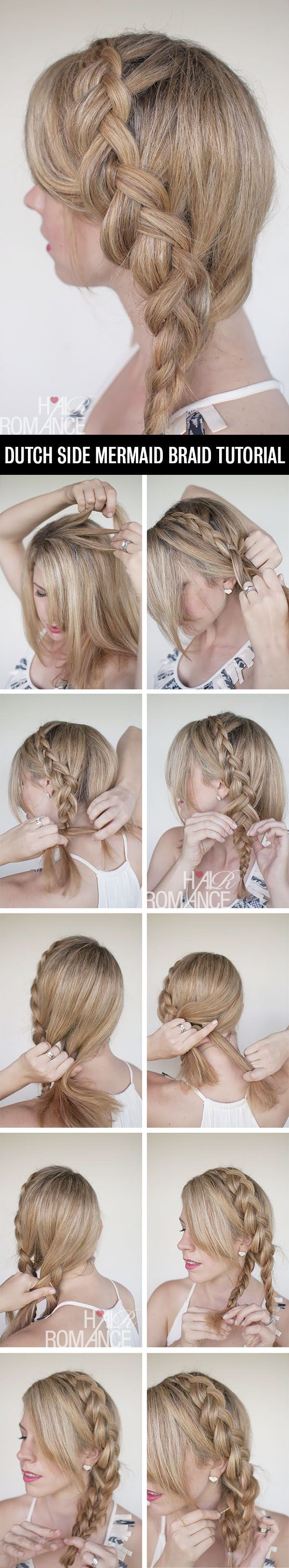 Another cute braid for the rotation....