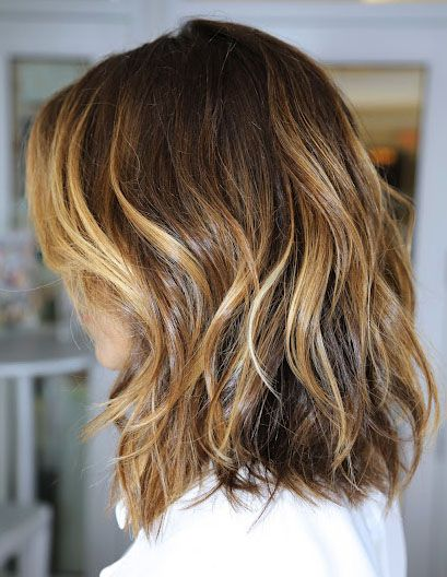 Another ombre lob....