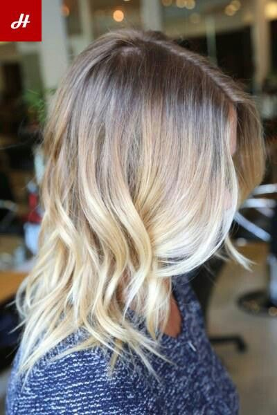 Beachy blonde for summer....