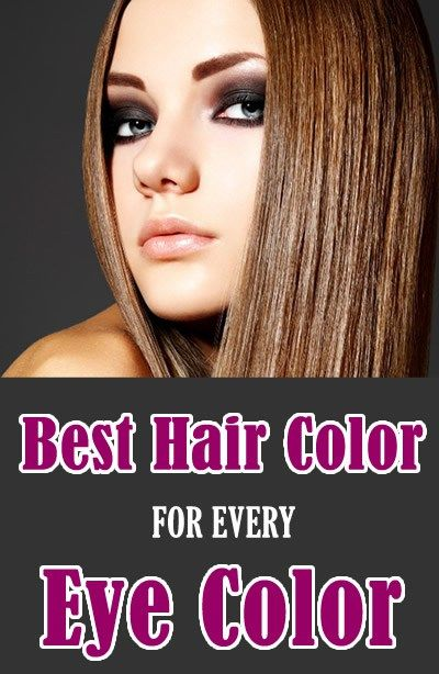 Best Hair Color for every Eye Color