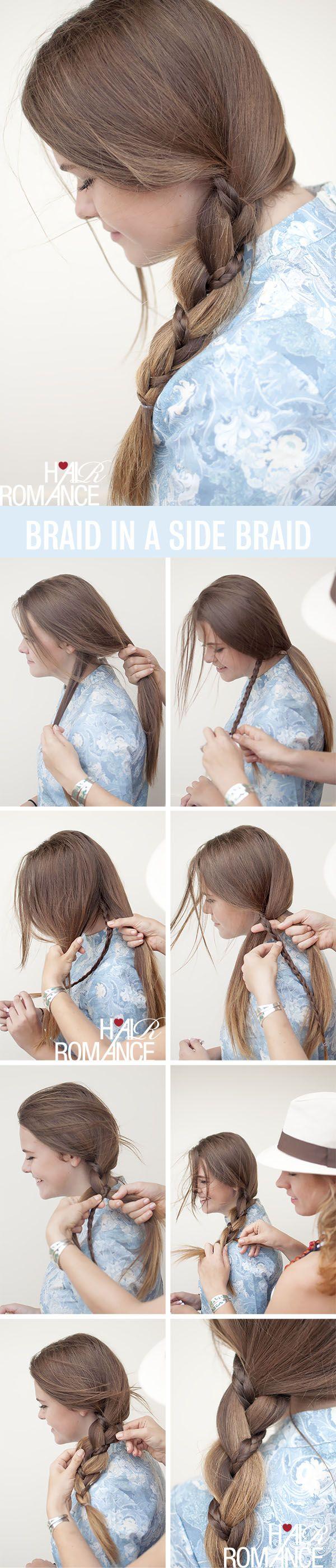Braid in a braid....