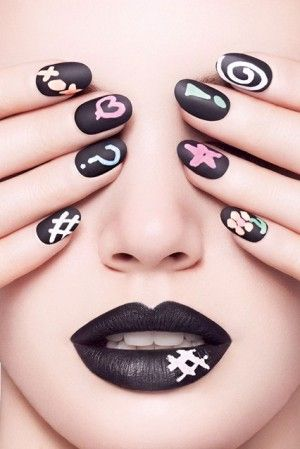 Chalkboard polish that lets you draw on your nails: What do you think?