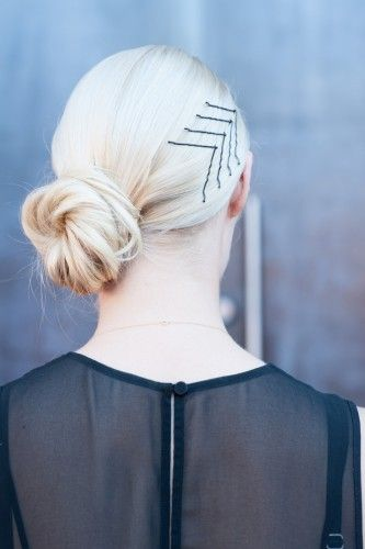 Clever bobby pin placement alone can have impact. Click the photo for more on th...