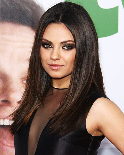 Click on the photo to get quick tips on how to do a blowout like Mila Kunis's.