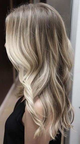 Cool Breeze Blonde Hair Color: Remarked for its ashy tones, cool blonde hair col...