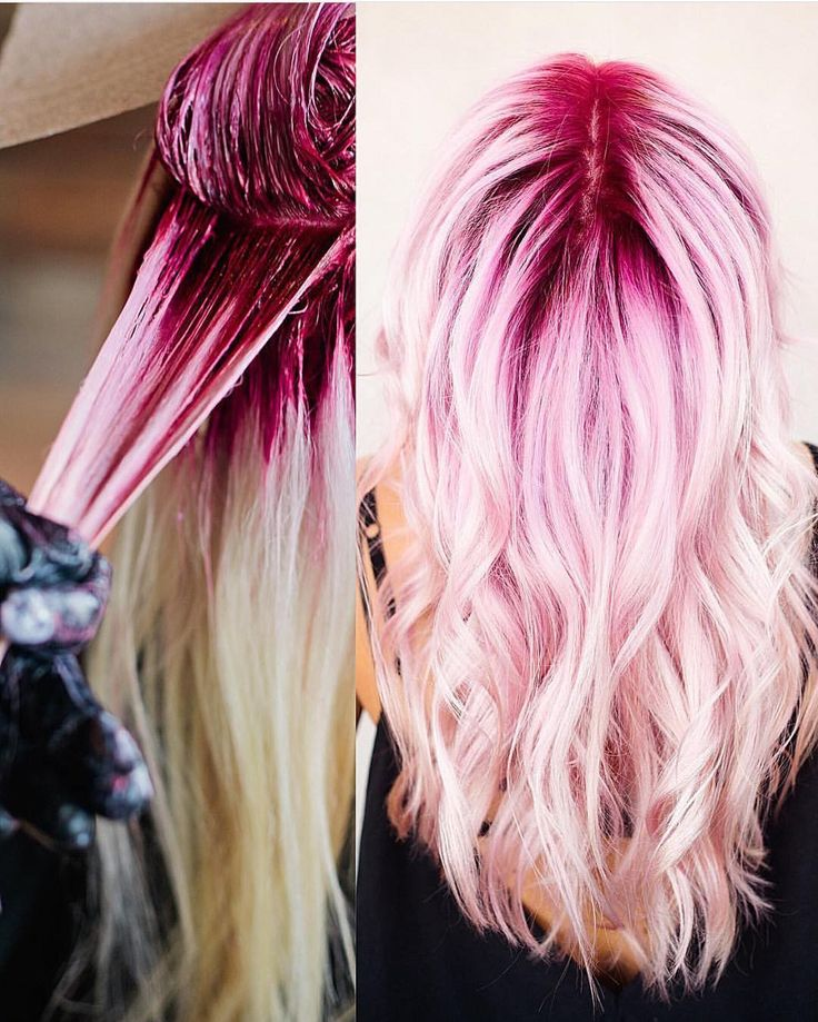 """"""" During and after shots by @jaywesleyolson Jay this pink color confection is ..."""