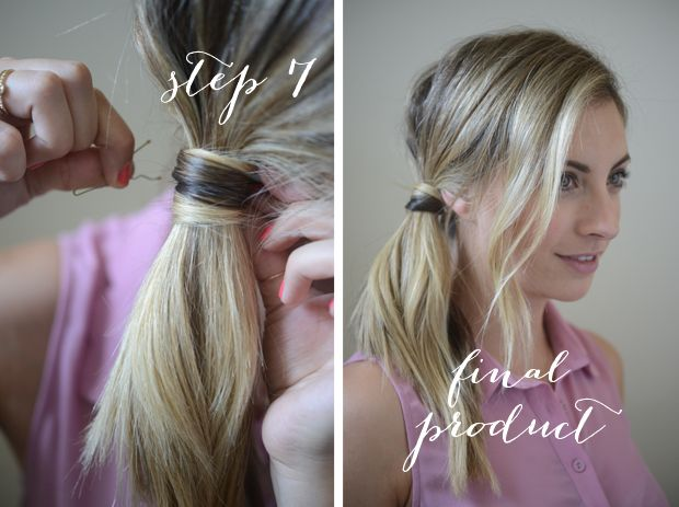 Easy summer hairstyles. Click on the photo for the steps for all three.