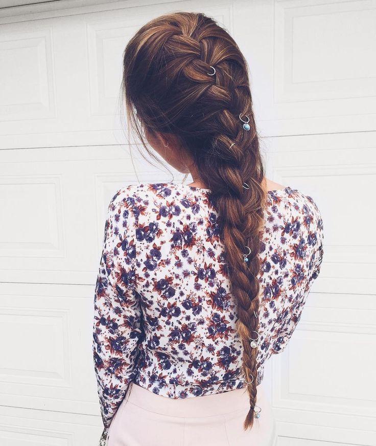 Enchant Tie atop   #SaboSkirt  Our tops and braids go hand in hand! @frejskatt