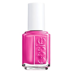 Essie Nail Polish in Lights (an electric pink neon) looks especially fresh when ...