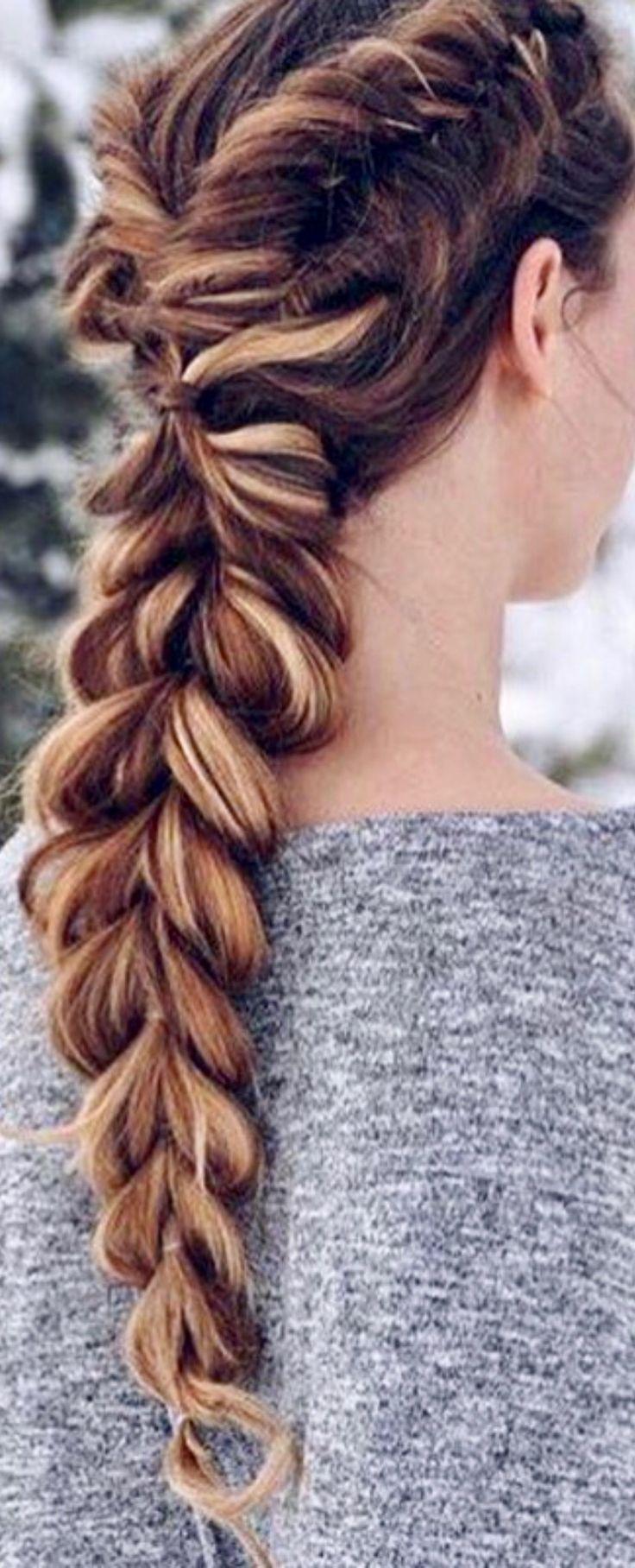 fishtail braid...
