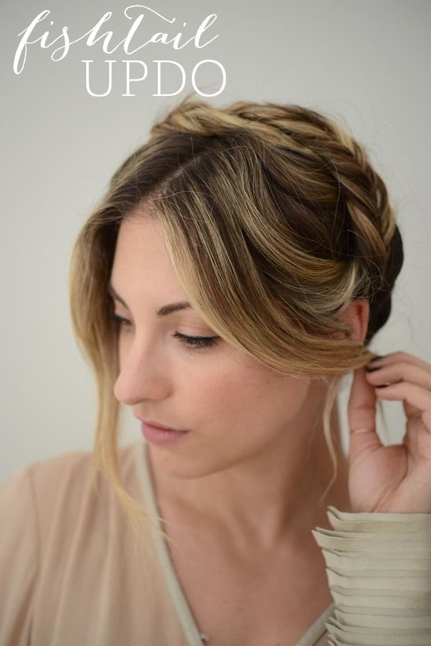 For the fishtail braiders among us: Check out the how-tos for this updo....