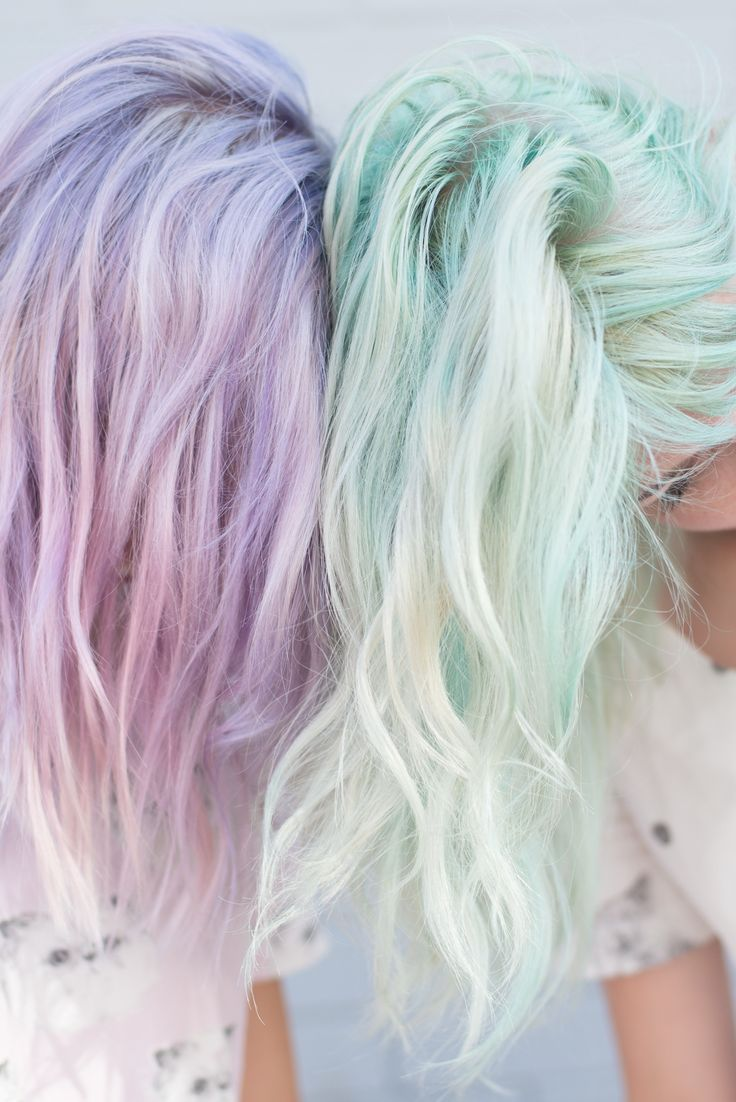Get these gorgeous looks using the Pravana ChromaSilk Pastels