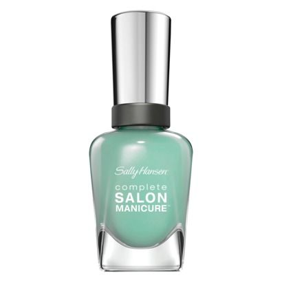 Go green this fall: A muted moss, like Sally Hansen Complete Salon Manicure in J...