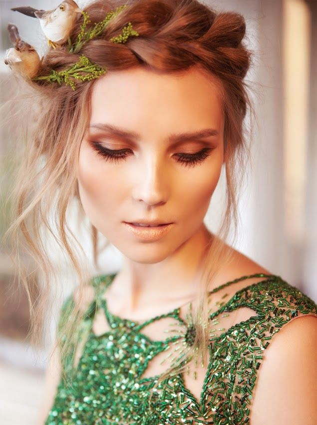 gorgeous crown braid