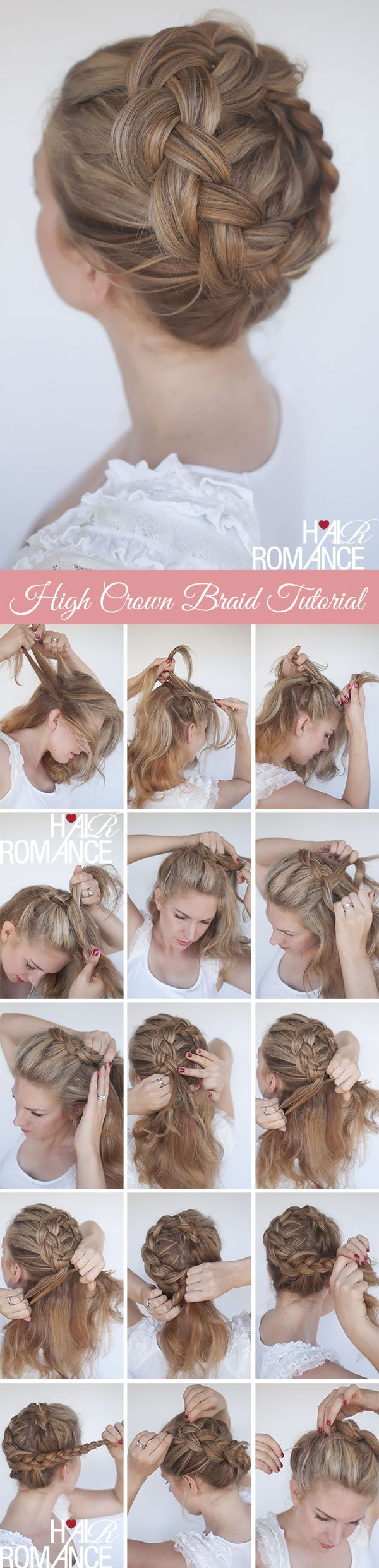 Here's a great tip from this style: To make your hair look thicker, stretch th...