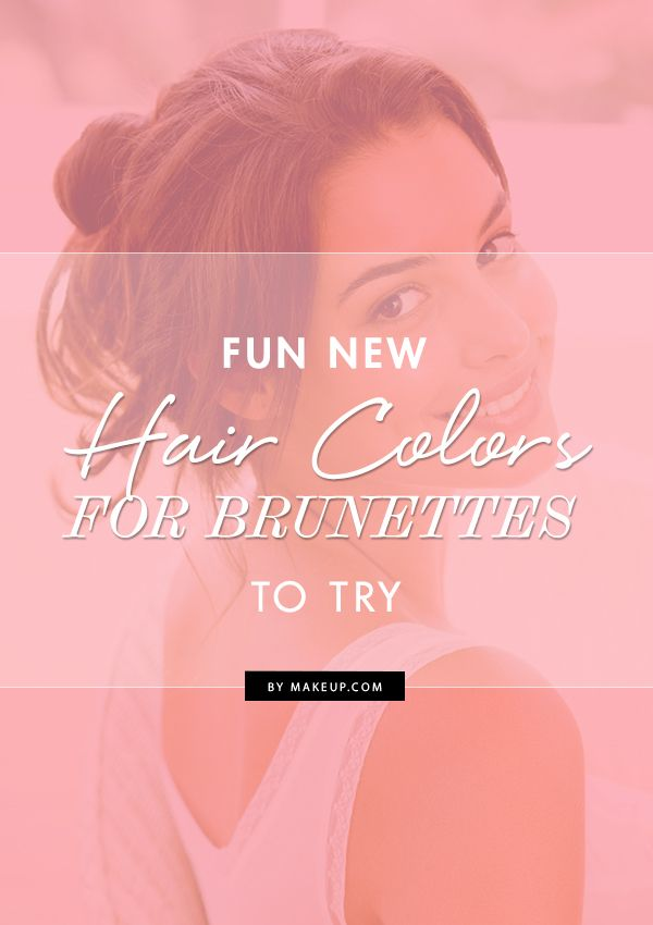 Hey brunettes! Are you tired of your hair color and are looking for something ne...