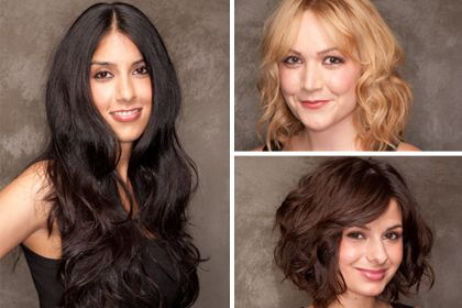 How to get tousled, wavy hair, whether it's short, medium length, or long. Cli...