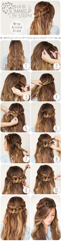 How To:  Wrap Around Braid
