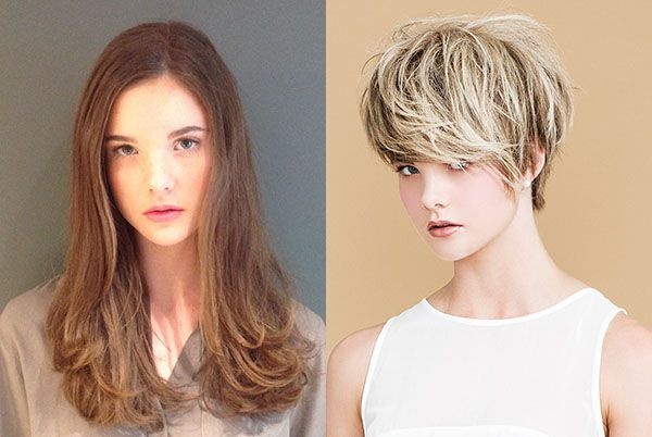 How's that from a long-to-short hair transformation?...