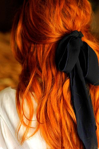 I don't get it when people call them red heads when they have orange hair......