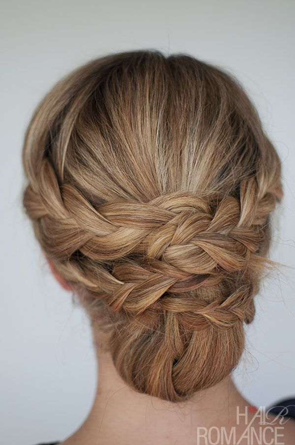 I think this braided style is so pretty. To get the how-tos, just click on the p...
