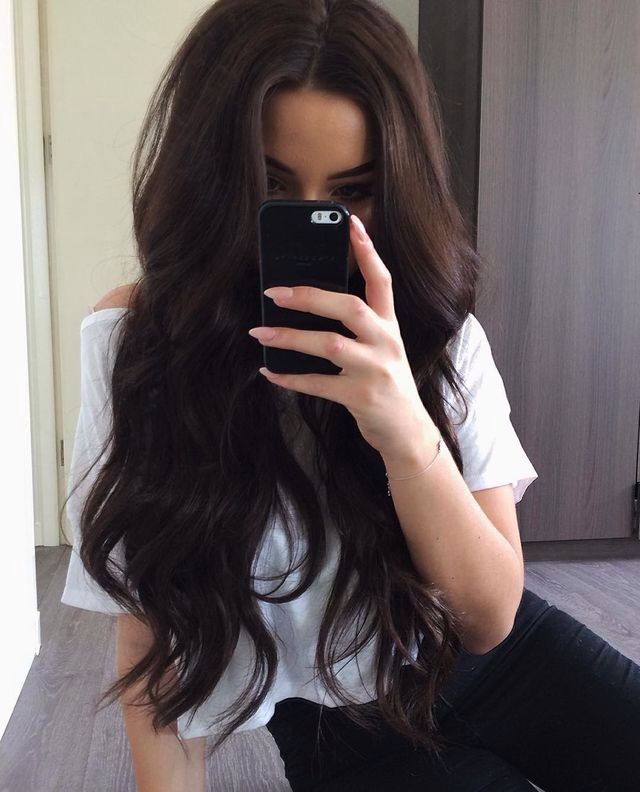 I will dye my hair is color.