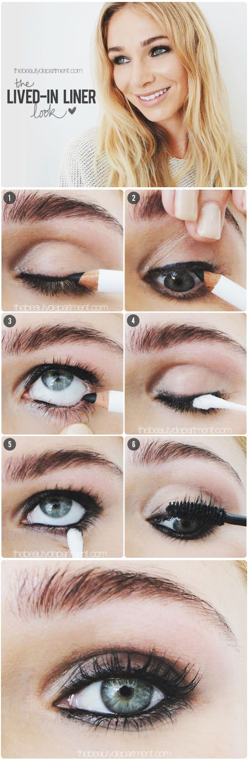 I'm not big on lining the inner rims of my eyes, but I do kind of love thi...