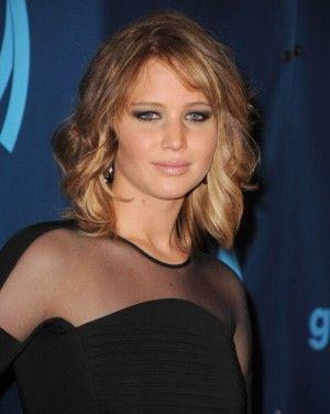 Jennifer Lawrence's new layered shag.