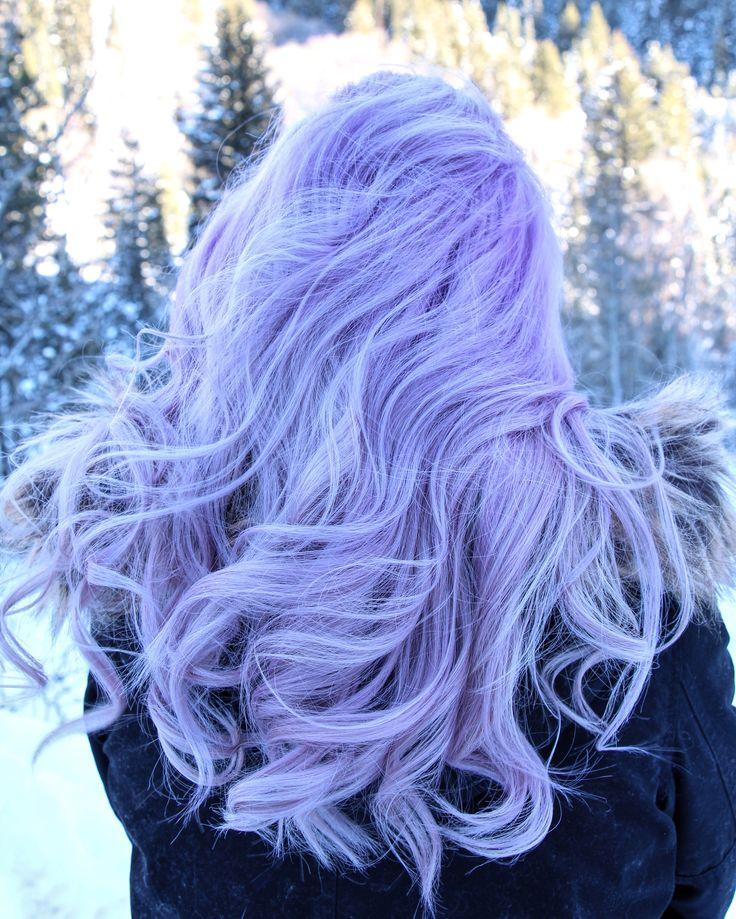 Lavendar hair  kamillemonson.com...