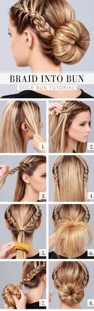 Long Hair, Complex Do. Hairs styling I think is a creative way to show off your ...