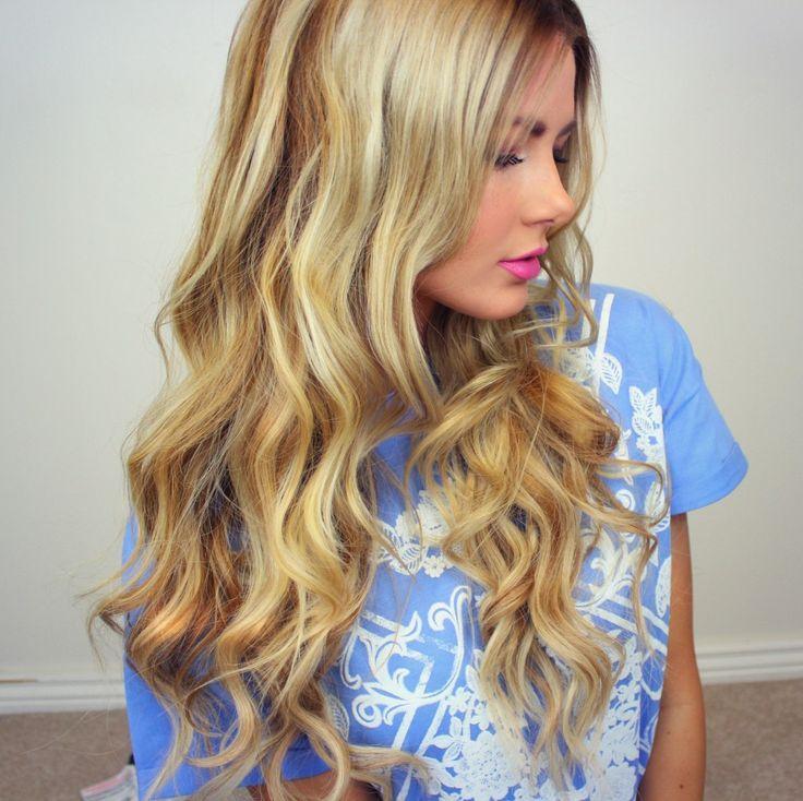 Loose curls tutorial....