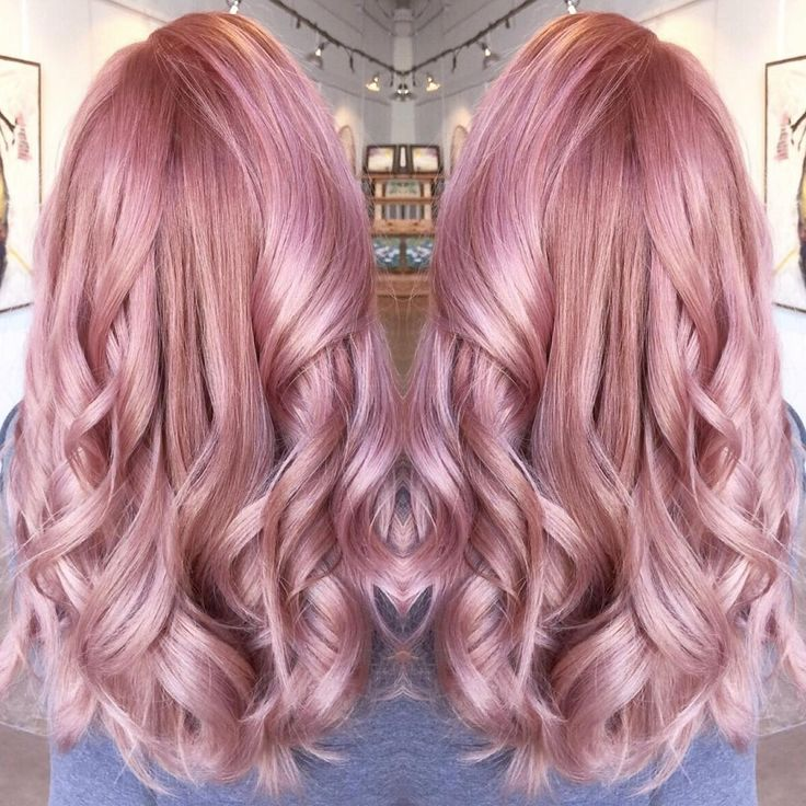 """""""@meredithabloom submitted this Easter Pink for our #modernsalon color contest..."""