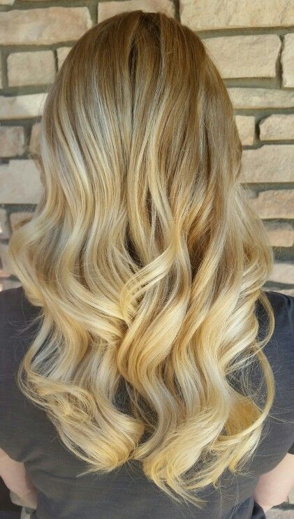 #natural #blonde #ombre #curls