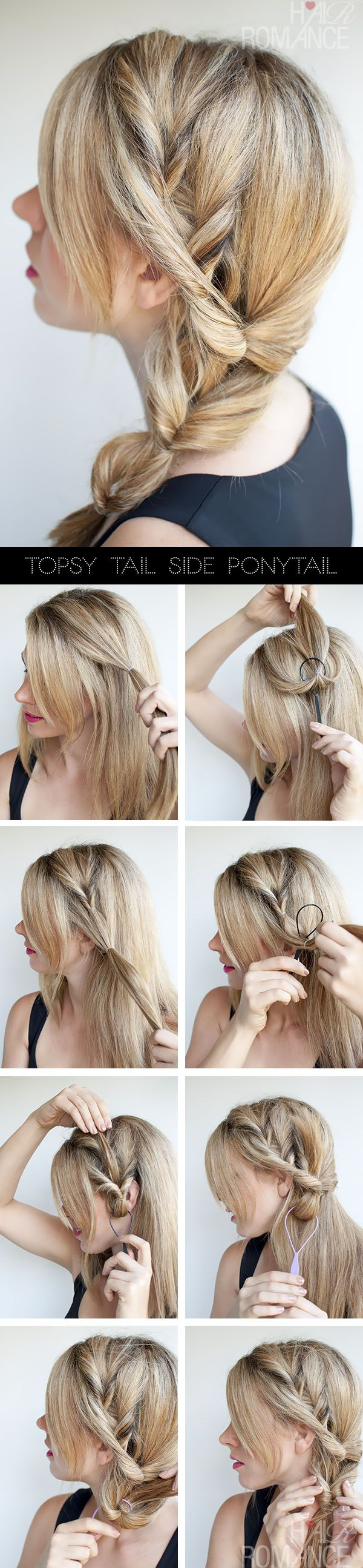 Own a Topsy Tail? Try this pretty style....