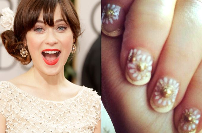 Probably not for real life, but I kind of loved Zooey Deschanel's Golden G...