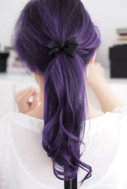 purple hair, don't care (but... we actually do care)