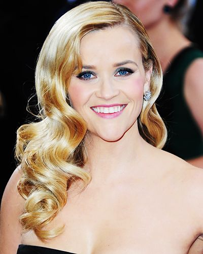 Reese Witherspoon may have had the prettiest hair on the Oscars red carpet, with...