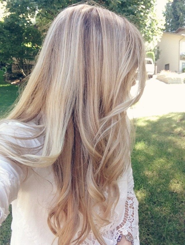 Rose gold blonde with highlights Kassinka