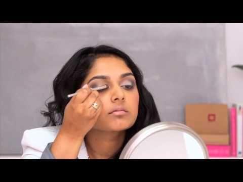 Simple, clear smoky eye tutorial from Birchbox.