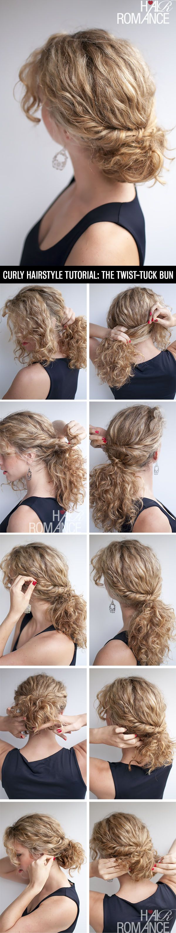 So pretty for curly hair....