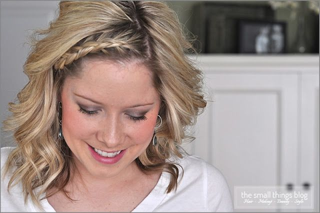 "The ""Dutch"" braid. See how to do it."
