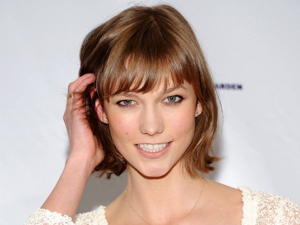 The It cut of the moment: The Chop, a.k.a. the Karlie, named for Karlie Kloss, t...
