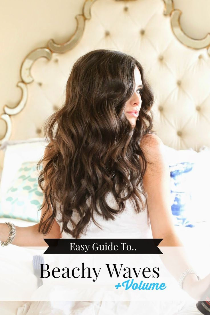 The Sweetest Thing: Easy Guide to Beachy Waves..