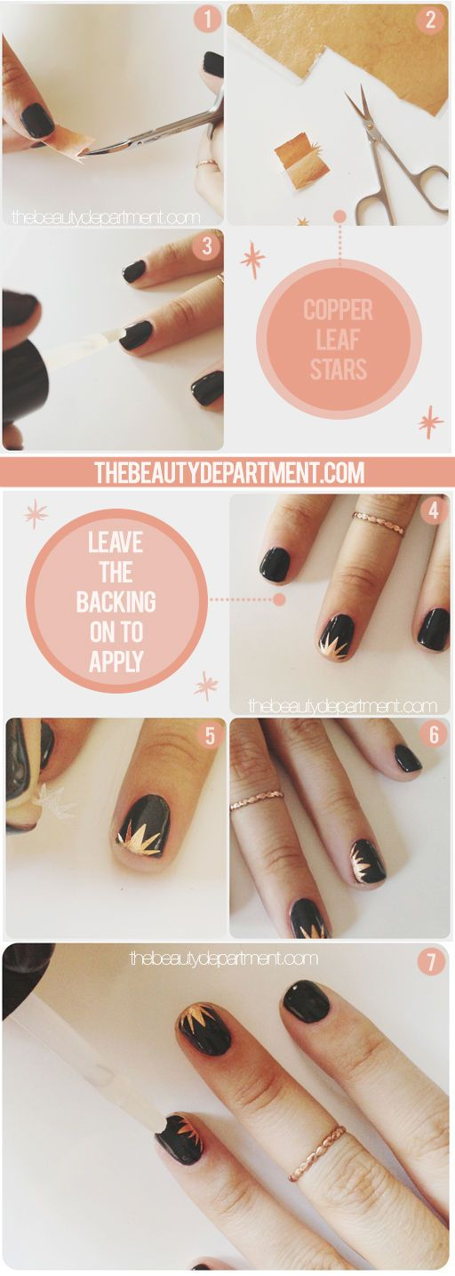 This may not be the easiest manicure, but it certainly is striking. Click on the...